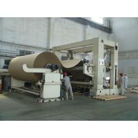 Buy cheap Rewinding Machine in paper making machine/overfeed or bottom-feed Frame type Rewinding/ Accept customization from wholesalers