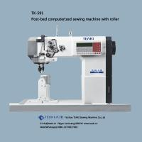 Buy cheap TK-591 post-bed computerized sewing machine with roller from wholesalers