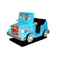 Buy cheap Amusement Park Token Kiddy Ride Machine / Coin Operated Toy Rides from wholesalers