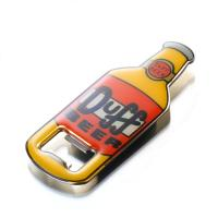 Buy cheap 3D Surface Bottle Shaped Metal  Bottle Opener With Epoxy Resin Cover Eco Friendly from wholesalers