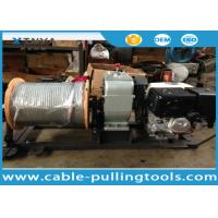 Buy cheap Honda Gas Engine Powered Winch Cable Pulling Tools With 300M Wire Rope from wholesalers
