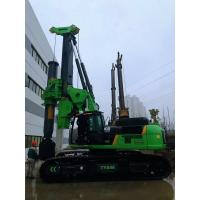 Buy cheap Piling equipment hire Green Color Compact Pile Driver Machine , Mini Piling Rig Diameter 2500mm from wholesalers