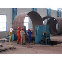 100 Tons Motorized High PrecisionWind Tower Production Line For Pipe Fabrication Manufactures