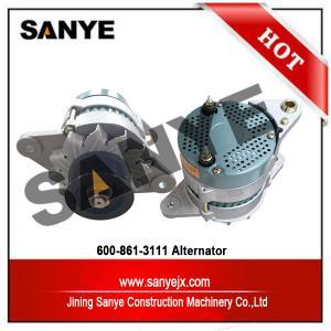 Wholesale S4D102 engine komatsu excavator PC200-6 PC300-7 PC360-7 alternator 600-861-3111 from china suppliers