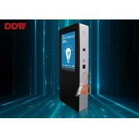 Buy cheap IR Touch Charging Floor Standing Digital Signage , 1080P Electric Car Smart Charge Pile Advertising Display DDW-AD5501S from wholesalers
