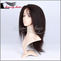 Buy cheap Full lace wig,100% remy hair, Full lace/Front lace/Machined wig can be customized. from wholesalers