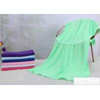 Buy cheap 70*140cm Custom Printed Microfiber Cloth , Green Microfiber Towels For Cars  from wholesalers