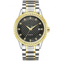 Buy cheap Diamond case automatic gold watch fashion wrist watches automatic watch for men from wholesalers