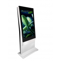 Buy cheap 27 inch lobby Self Ordering touch screen Kiosk In Restaurant Barcode Scanner online payment machine self-ticketing kiosk from wholesalers