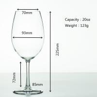 Buy cheap Plastic Wine Cup  Tritan Glass Crystal  red wine Glass for party from wholesalers