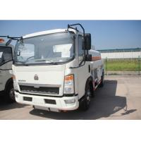 Buy cheap 4x2 91HP Fuel Transport Trucks, Six Wheels 6000 Litres Gasoline Tanker Truck product
