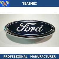 Buy cheap Professional ABS Blue Ford Logo Custom Made Car Emblems With Grill Hood from wholesalers