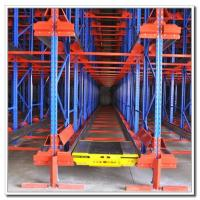 Buy cheap High Density Storage Radio Shuttle Pallet Runner Rack System For Supermarket / Storage from wholesalers