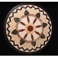 Wholesale Natural Stone Waterjet Medallions Floor Inlay Art Tile from china suppliers