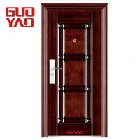 Buy cheap High quality new designs main entrance front single entry steel security iron doors from wholesalers