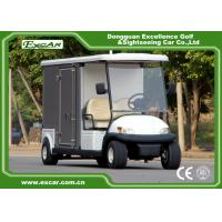 Buy cheap White 2 Passenger Electric Food Cart from wholesalers