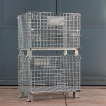 Buy cheap Multifunctional Wire Metal Storage Bins Space Saving 1000kg Loading Capacity from wholesalers