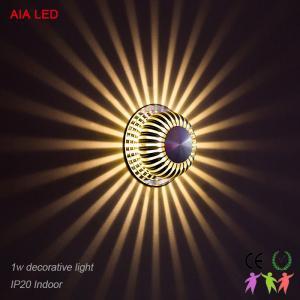 Sunlight AC86-265V,50-60Hz IP20 30degree LED wall light /LED decorative lighting Manufactures