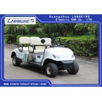 Buy cheap 4 Wheel 4 Person Electric Club Golf Cart Car 48V Battery Powered Without Roof from wholesalers