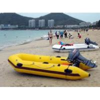 Buy cheap Crazy Yellow Inflatable Motor Boat for beach water sports from wholesalers