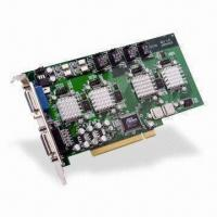 Wholesale DVR Card with Built-in Four-channel Alarm Input and Output, Supports Multiple Languages from china suppliers