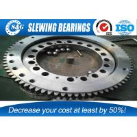 Buy cheap preferred double row ball slew bearings for tower cranes and truck cranes from wholesalers