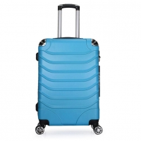 Wholesale Aluminum Blue 20inch ODM ABS Stylish Trolley Suitcase from china suppliers