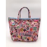 Buy cheap Colorful 210D Ripstop Polyester Handbags Ladies Fashion Handbags Reusable from wholesalers