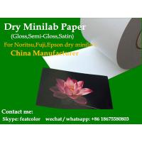 Buy cheap Dry lab paper for noritsu, fuji,Epson Dry minilab Printers  6(152mm) x100m from wholesalers