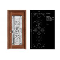 Buy cheap Inteiror Door Architectural Decorative Glass , Clean Bevelled Glass Door Panels from wholesalers