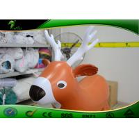 Buy cheap Durable Inflatable Deer Models Cartoon Sika Deer Animal Inflatable Toys For Kids from wholesalers