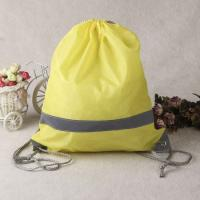Buy cheap 2016 nice fashion white high quality cotton drawstring bag with logo from wholesalers