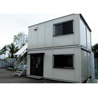 Wholesale Easy Installation Combined Container , Convienient Cinema Prefab Container Homes from china suppliers