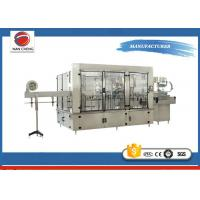 Wholesale Aseptic Automatic Liquid Filling Machine 11KW , Sparkling Drinks Liquid Filling Line from china suppliers