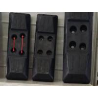 Buy cheap 2.4kg Excavator Rubber Pads , Rubber Track Pad Chain - On Pitch 135-300C from wholesalers