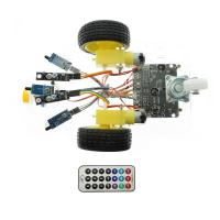 Buy cheap 7V-12V Arduino Car Robot Kit Line Tracking Fire Fighting Infrared Remote Control from wholesalers