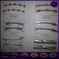 Wholesale Razor Wire BTO-22 Concertina Barbed Roll from china suppliers