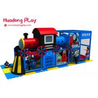Buy cheap Toddler Indoor Playground Equipment High Safety New Thomas Train Style from wholesalers