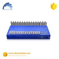 Buy cheap Wholesale 32 ports with 128 sim slots Voip Gateway SMS Terminal Voice Goip Gateway from wholesalers