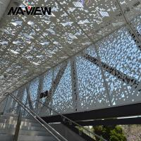 Buy cheap Fireproof Soundproof and Square hole Perforated acoustic panel from wholesalers