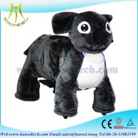 Hansel animal ride for mall plush motorized animals stuffed animals with wheel Manufactures