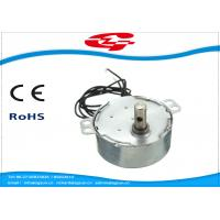 Buy cheap 1.5RPM Home Ac Electric Motor , Silver Color Synchronous Ac Motor 49TYD Low Noise from wholesalers