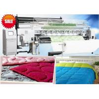 Buy cheap 128 Inches Multi Needle Quilting Machine With Panasonic Servo Motor And Transducer from wholesalers