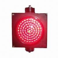 200mm (8-inch) High-brightness Full Red Ball LED Traffic Light with 50,000-hour Lifespan Manufactures