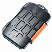 Wholesale Waterproof Extremely Tough Memory Card Case for 4CF 8xd 8 microSD Cards from china suppliers