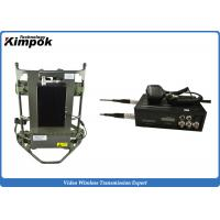 Buy cheap 8 Channels 2.4 Ghz Wireless Video Transmitter 4000m 2000mw For CCTV System from wholesalers