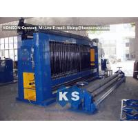 Buy cheap Automatic Higher Efficiency Gabion Production Line Gabion Baskets Making Equipment from wholesalers