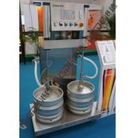 Semi-automatic Two Station Beer Keg Filling Machine 60 Kegs / h Manufactures