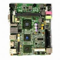 Buy cheap Motherboard with DDR2 Memory Type, Supports Mini PCI-E and Wi-Fi Internet Access from wholesalers