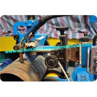 Adjustable Pinch Type Flange Pipe Welding Rotator , Automatic Welding Roller Manufactures